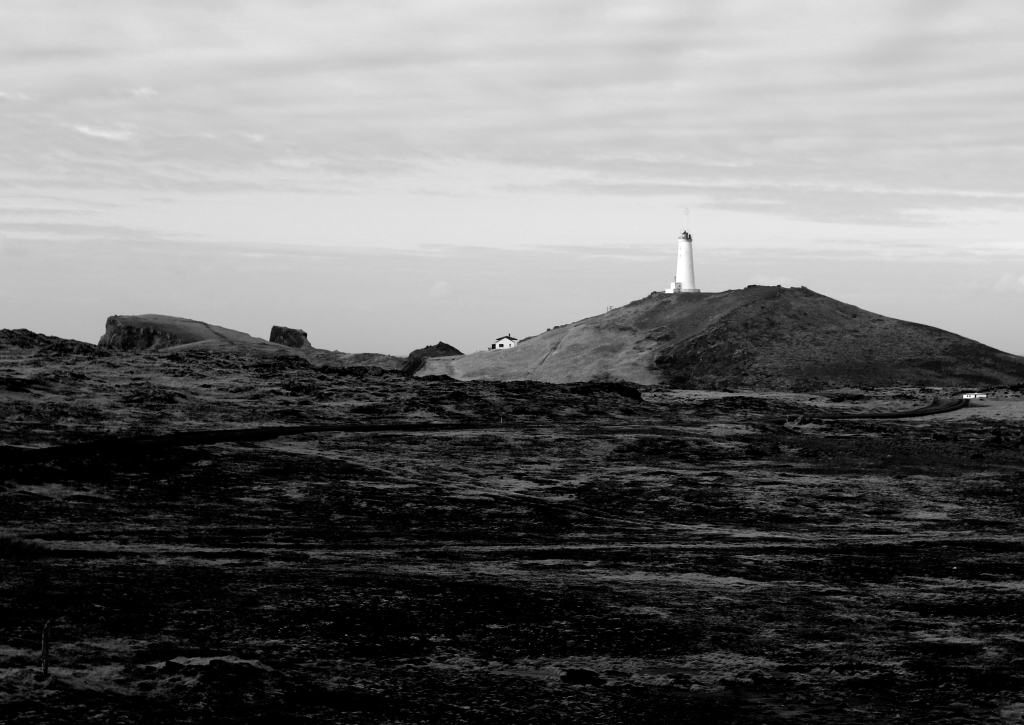 Lighthouse on Icelandic Coast
