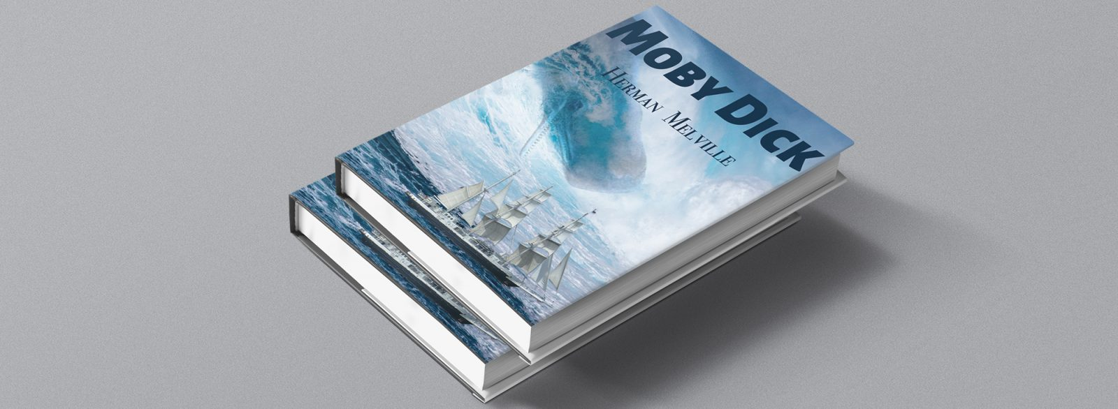 Moby Dick Book Cover